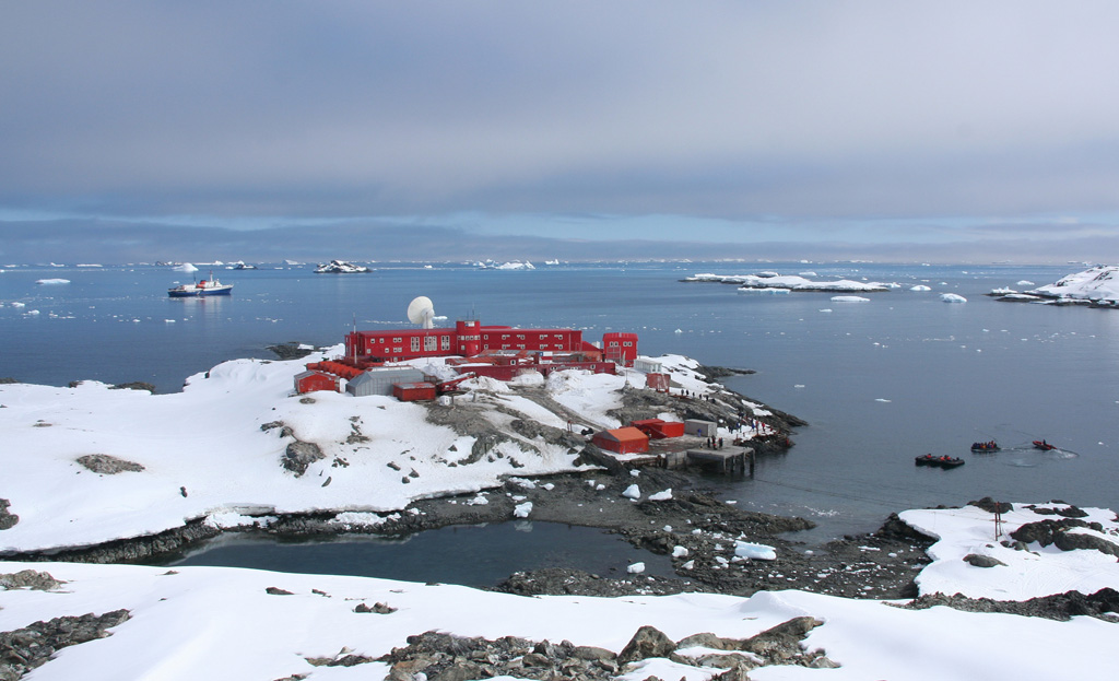 Antarctique - base Bernard O Higgins
