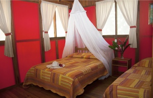 un bungalow du Pirate Cove Lodge sur la Péninsule d'Osa au Costa Rica