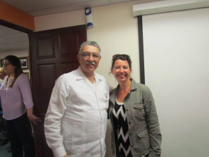 avec mr le ministre du tourisime du Salvador