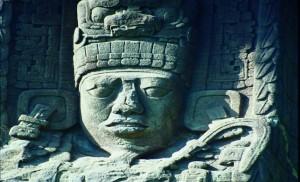 Guatemala-Quirigua-stèle