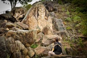Colombie - San Agustin - La Chaquira - statue archéologique - Latinexperience voyages