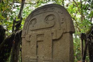Colombie - San Agustin - statue archéologique - Latinexperience voyages