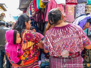 Guatemala - Marché de Chichicastenango - Latinexperience voyage