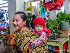 Guatemala - Marché indien de Almolonga - Latinexperience voyage