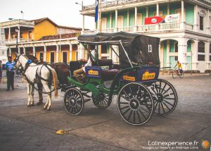 Nicaragua - Granada, jolie ville coloniale